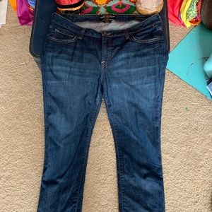 Lucky Jeans Size 16W Ginger Straight Leg